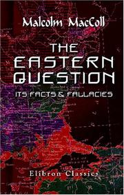 Cover of: The Eastern Question