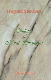 Cover of: Outlines of moral philosophy