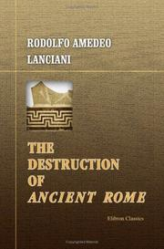 Cover of: The destruction of ancient Rome