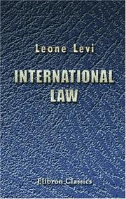 Cover of: International law