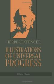 Cover of: Illustrations of Universal Progress