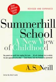 Cover of: Summerhill School