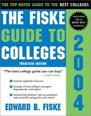 Cover of: The Fiske Guide to Colleges 2004 (Fiske Guide to Colleges)