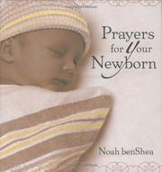 Cover of: Prayers for your newborn
