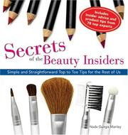 Cover of: Secrets of the Beauty Insiders