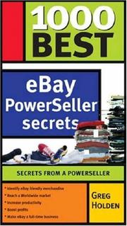 Cover of: 1000 Best eBay Success Secrets (1000 Best)