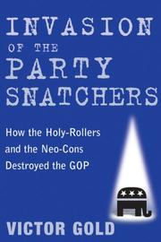 Cover of: Invasion of the Party Snatchers | Victor Gold