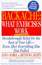Cover of: Backache | Dava Sobel