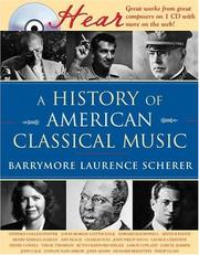 Cover of: A History of American Classical Music (Naxos Books)