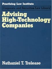 Cover of: Advising High-Technology Companies