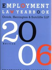 Cover of: Employment Law Yearbook 2006