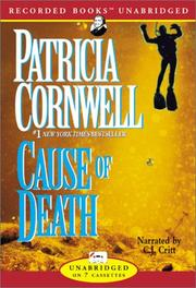 Cover of: Cause of Death