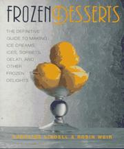 Cover of: Frozen desserts