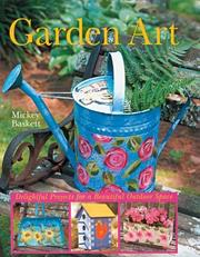Cover of: Garden Art | Mickey Baskett