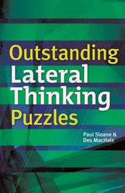 Cover of: Outstanding Lateral Thinking Puzzles