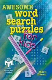Cover of: Awesome Word Search Puzzles for Kids