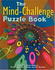 Cover of: The Mind-Challenge Puzzle Book