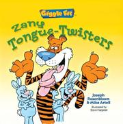 Cover of: Zany tongue-twisters