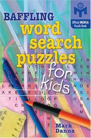 Cover of: Baffling Word Search Puzzles for Kids