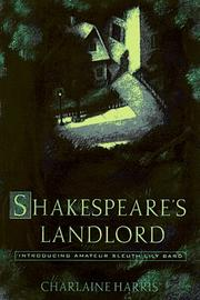 Cover of: Shakespeare's Landlord