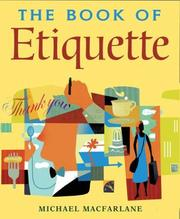 Cover of: The Book of Etiquette