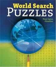 Cover of: World Search Puzzles | Toni Lynn Cloutier