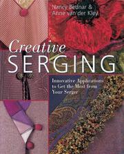 Cover of: Creative serging