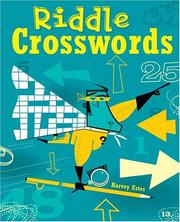 Cover of: Riddle Crosswords | Harvey Estes