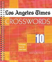 Cover of: Los Angeles Times Crosswords 10 | Rich Norris