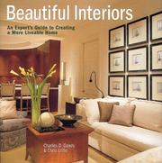 Cover of: Beautiful Interiors | Chris Little