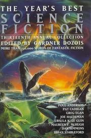Cover of: The Year's Best Science Fiction, Thirteenth Annual Collection