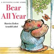 Cover of: Bear all year: a guessing game story