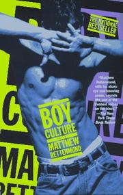 Cover of: Boy culture