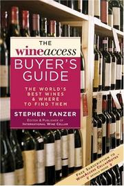 The WineAccess Buyer's Guide by Stephen Tanzer, Wine Access