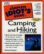 Cover of: The complete idiot's guide to camping and hiking