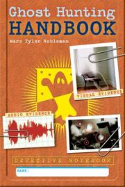 Cover of: Detective Notebook: Ghost Hunting Handbook (Detective Notebook)