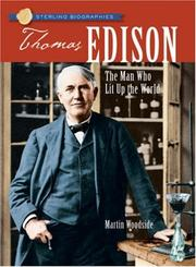 Cover of: Sterling Biographies: Thomas Edison | Martin Woodside