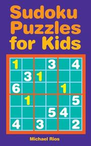 Cover of: Sudoku Puzzles for Kids | Michael Rios