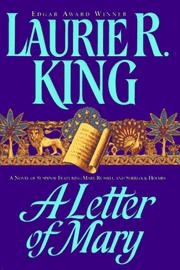 Cover of: A Letter of Mary: a Mary Russell novel