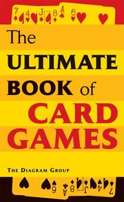 Cover of: The Ultimate Book of Card Games | Diagram Group.