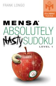 Cover of: Mensa Absolutely Nasty Sudoku Level 1 |