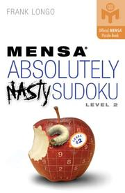 Cover of: Mensa Absolutely Nasty Sudoku Level 2