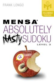 Cover of: Mensa Absolutely Nasty Sudoku Level 3