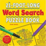 Cover of: The 21-Foot-Long Word Search Puzzle Book | Mark Danna