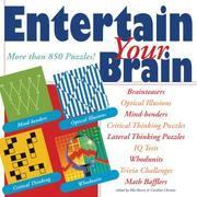 Cover of: Entertain Your Brain | Terry Stickels