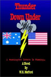 Cover of: Thunder Down Under | W. H. Mefford