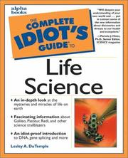 Cover of: The complete idiot's guide to life science