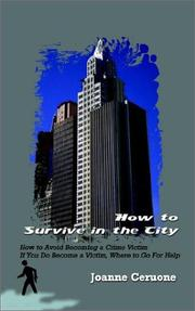 Cover of: How to Survive in the City