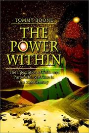Cover of: The Power Within | Tommy Boone