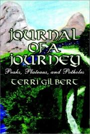 Cover of: Journal of a Journey | Terri Gilbert